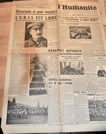 Rare Journal L'humanité Du 7 Novembre 1944 - 1939-45