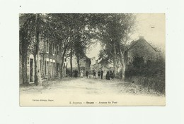 12 - GAGES- Avenue Du Pont Animée Bon état - Otros Municipios