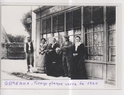 CPM-Grand Format- 21-Côte D'Or- GEMEAUX- Tirage Plaque De Verre De 1920- - Autres Communes