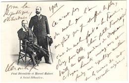 PAUL DEROULEDE , Grand Nationaliste , Depute De La Charente , ANTI DREYFUS , Exile En Espagne En 1901 - Autographs