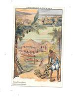 CPA Nos Colonies (Etablissements D' OCEANIE) Pub Chocolat LOMBART - Cartoline