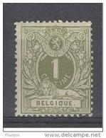 BELGIE - OBP Nr 42  - Liggende Leeuw - MH* - Cote 19,00 € - 1869-1888 Lying Lion