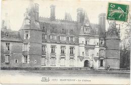 MAINTENON : LE CHATEAU - Maintenon
