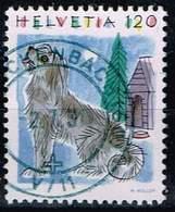 Schweiz 1993,Michel# 1492 O Dog (Canis Lupus Familiaris) - Usados