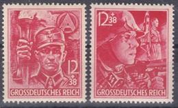 SA + SS Parteiorganisation Postfrisch ** MNH Michel 909 + 910 - Allemagne