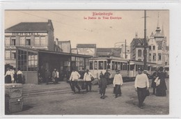 Blankenberghe. Le Station Du Tram Electrique. - Blankenberge