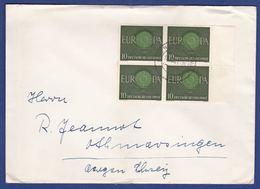 Brief Mehrfachfrankatur MiNr. 337 (aa0075) - BRD