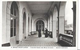 SAINT NAZAIRE    ECOLE SAINT LOUIS N 3   ANCIEN CASINO DES MILLE COLONNES   GALERIE INTERIEURE  2 PRETRES   DEPT 44 - Saint Nazaire