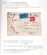 DDW986 - INCOMING MAIL - Lettre Recommandée TP Italie BARGA 1944 Vers ANTWERPEN - Censure Allemande - Guerra '40-'45