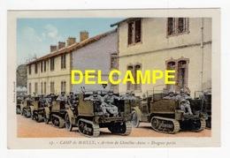 DD / MILITARIA / MATÉRIEL / CHENILLES-AUTOS  -  DRAGONS PORTÉS AU CAMP DE MAILLY (AUBE) / ANIMÉE - Material
