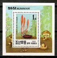 Korea North 1993 Corea / Mushrooms MNH Fungi Champignons Setas Pilze / Cu17016  10-11 - Mushrooms