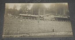 25 - Carte Postale Photographie : Faivre-Locca. Pontarlier : Accident Locomotives Trains Chemin De Fer ----- 545 - Pontarlier