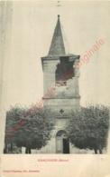 55. GIRAUVOISIN .  ( église Bombardée ) . - Autres Communes