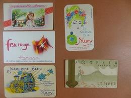 Lot De 9 Cartes Parfumées - Anciennes (jusque 1960)