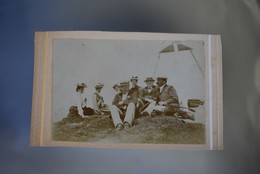 CDV Switzerland Course Du Chamossaire ( Mountain ) 1904 - Photos