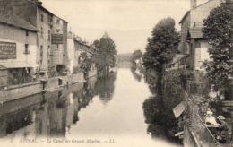 D88  EPINAL  Le Canal Des Grands- Moulins  ..... - Epinal