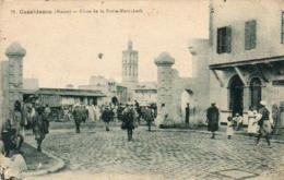 MAROC  CASABLANCA  Place De La Porte-Marrakech - Casablanca
