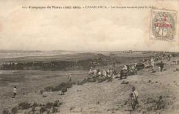MAROC  CASABLANCA  Les Troupes Massées Pour La Revue - Casablanca