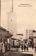 MAROC  CASABLANCA  Rue Du Capitaine Hilaire - Casablanca