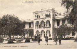 MAROC  CASABLANCA  Pavillon D'Honneur Du 4° Zouaves - Casablanca