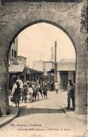 MAROC  CASABLANCA  Une Porte Du Sokko - Casablanca
