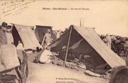MAROC  BER-RECHID  Un Coin Du Marché  ..... - Morocco