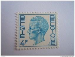 België Belgique Belgium 1972 Boudewijn Baudouin Type Elström Fosfer Papier 1643 Yv 1581B MNH ** - 1970-1980 Elström