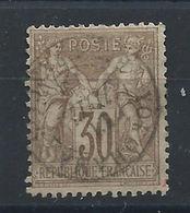 France N°69 Obl (FU) 1876 - Sage Type I - 1876-1878 Sage (Type I)