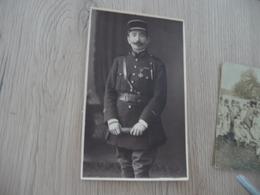 Carte Photo Militaire Militaria Soldat Officier Décoration Photo Merlens Aachen - Personen