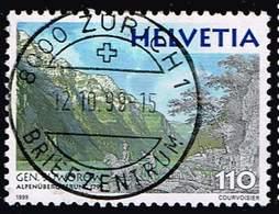 Schweiz 1999,Michel# 1700 O  Russische Truppen - Usados