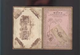 Menu/Programme Diner Nov 1890 / Musique Militaire Garde Impériale à Leur Colonel Par Membres Tokio-Club - Programmi