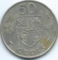 Ghana - 50 Cedis - 1991 - KM31 - Ghana