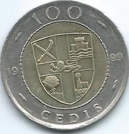 Ghana - 100 Cedis - 1999 - KM32 - Ghana