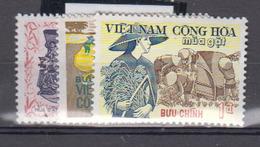 Viét-Nam      1971              N °    404 / 406        COTE      2 € 90        ( 1441 ) - Viêt-Nam