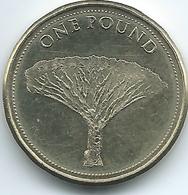 Gibraltar - Elizabeth II - 2014 - 1 Pound - Dragon Tree - Gibraltar