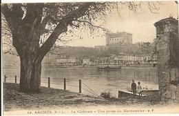 49 - SAUMUR -   Le Château - Vue Prise Du Marronnier   (animée Enfants )   445 - Saumur