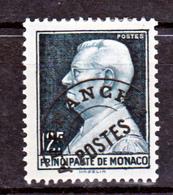 Monaco Préoblitérés    6  Neuf Avec Trace De Charnière* TB MH CoN CHARNELA  Cote 13.5 - Precancels