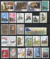 Belgique - Année Complète - YT N° 2312 à 2348 Manque 2332 Et 2335  - Neuf Sans Charnière - 1989 - Années Complètes