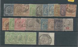 24 Timbres Ancien TUNISIE - Tunisie (1888-1955)