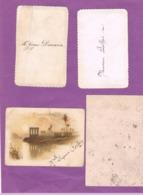 4 MENUS. 1885. 1894. 1897 - Menus
