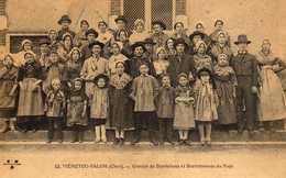 RARE CARTE MENETOU SALON GROUPE DE BERRICHONS ET BERRICHONNES - Autres Communes