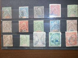 ANCIENS COLONIES FRANCAISES - Briefmarken