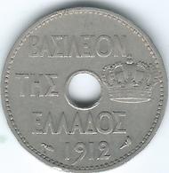 Greece - George I - 1912 - 10 Lepta - KM63 - Grecia
