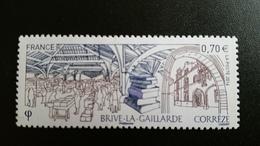 """France Timbre NEUF N° 5104 """"Brive-la-Gaillarde, Corrèze"""" - Année 2016 - Oblitérés"""