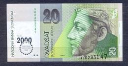 Slovakia  -  2000 -  20 Korun -.Millenium  P34....UNC - Slowakei