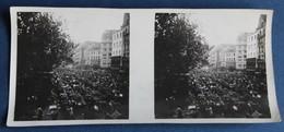 Photographie Stéréoscopique Originale Les Halles 1929 Strasbourg ??? Le Havre ??? - Stereoscopio