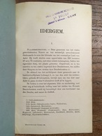 IDERGEM - De Potter & Broeckaert - Iddergem - Ninove - Uit Geschiedenis Van De Gemeenten Der Provincie Oost-Vlaanderen, - Ninove