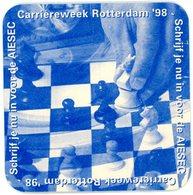 Nederland. Carrièreweek Rotterdam '98. Schrijf Je Nu In Voor De AIESEC. Schaken. Schaakstukken. Chess. Echecs. - Sotto-boccale