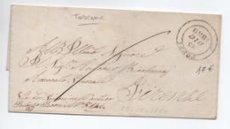 1856 - LETTRE De POPPI Pour FIRENZE - Toskana