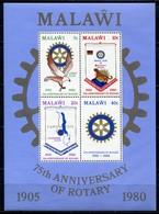 Malawi Mi# Block 57 Postfrisch/MNH - Rotary - Malawi (1964-...)